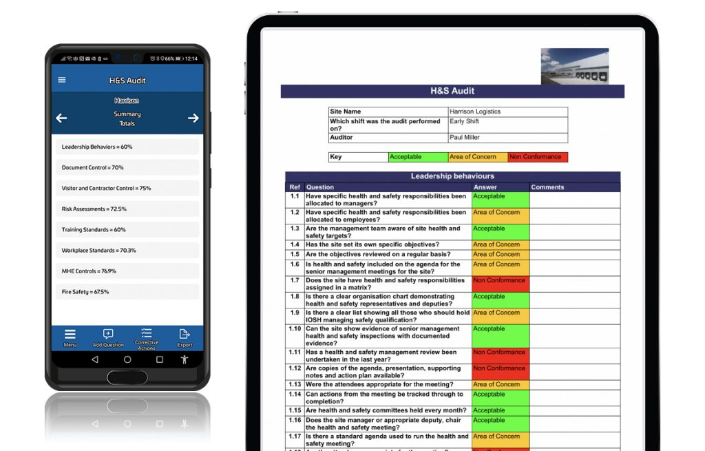 Warehouse Auditor App on Android and iOS